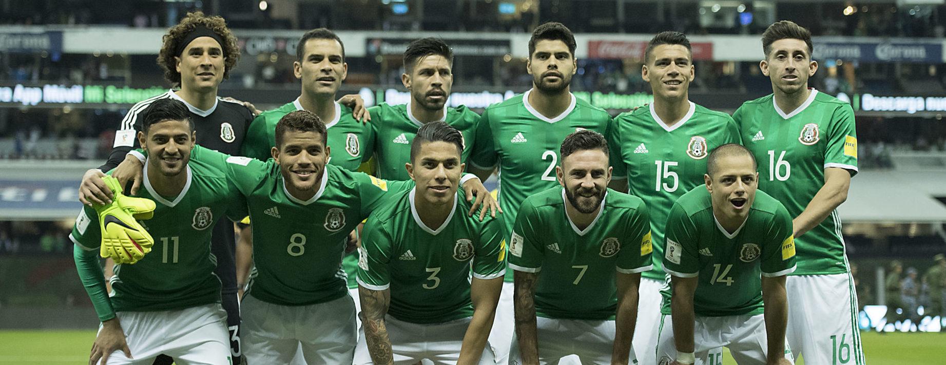 Resultado de imagen para mexico seleccion 2017