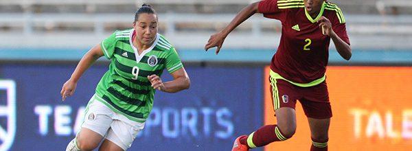 Durante el 2017 la Selección Nacional de México Femenil a cargo de Roberto  Medina Arellano celebró diez encuentros de preparación  ocho de ellos  fueron de ... 875d03de1a716