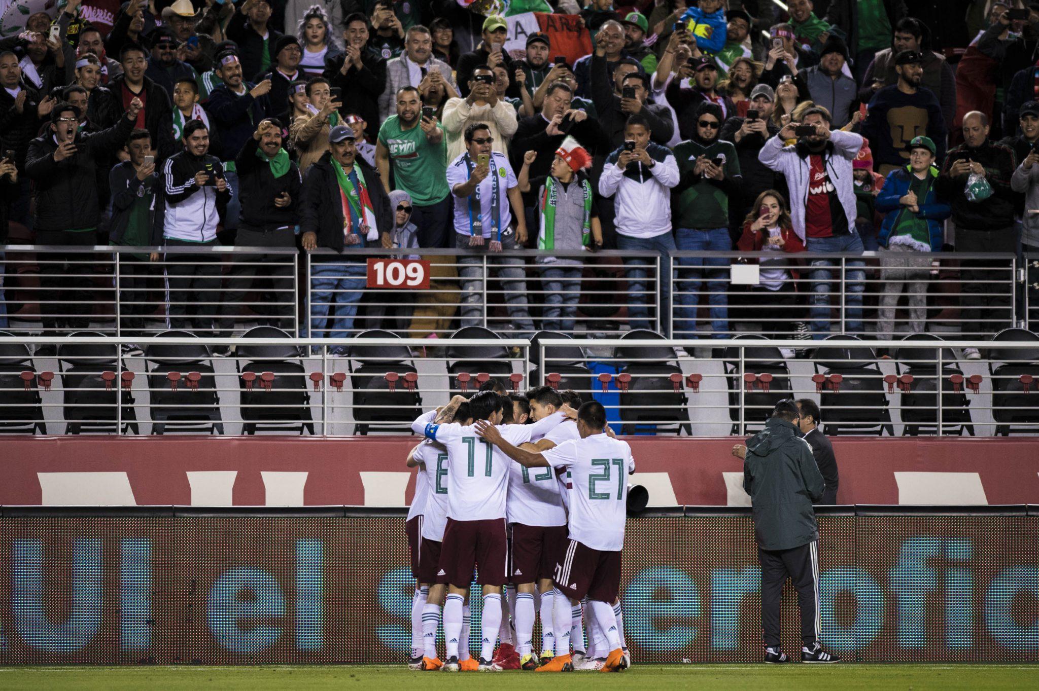El último partido de la Selección Nacional de México antes de su  participación en la Copa Mundial de la FIFA Rusia 2018 ante Dinamarca 610b903ff3e17