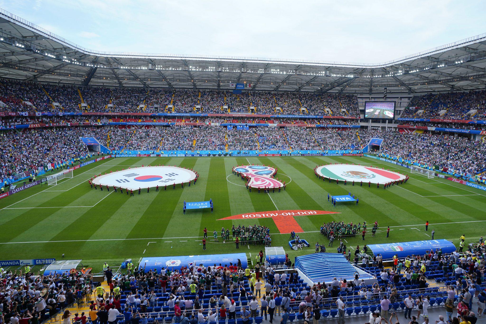 Selección Nacional de México  Copa Mundial de la FIFA Rusia 2018 Jornada 2  Sábado 23 de junio de 2018 República de Corea 1-2 México Estadio  Rostov  Arena ... 69ef60ab05e27