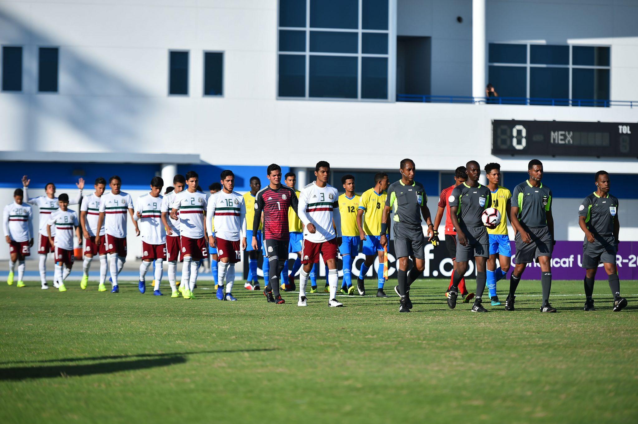 Campeonato Sub-20 de la CONCACAF 2018  Jornada 5 Sábado 10 de noviembre de  2018 México 10-0 Aruba IMG Academy Bradenton 43bbfaba866c5