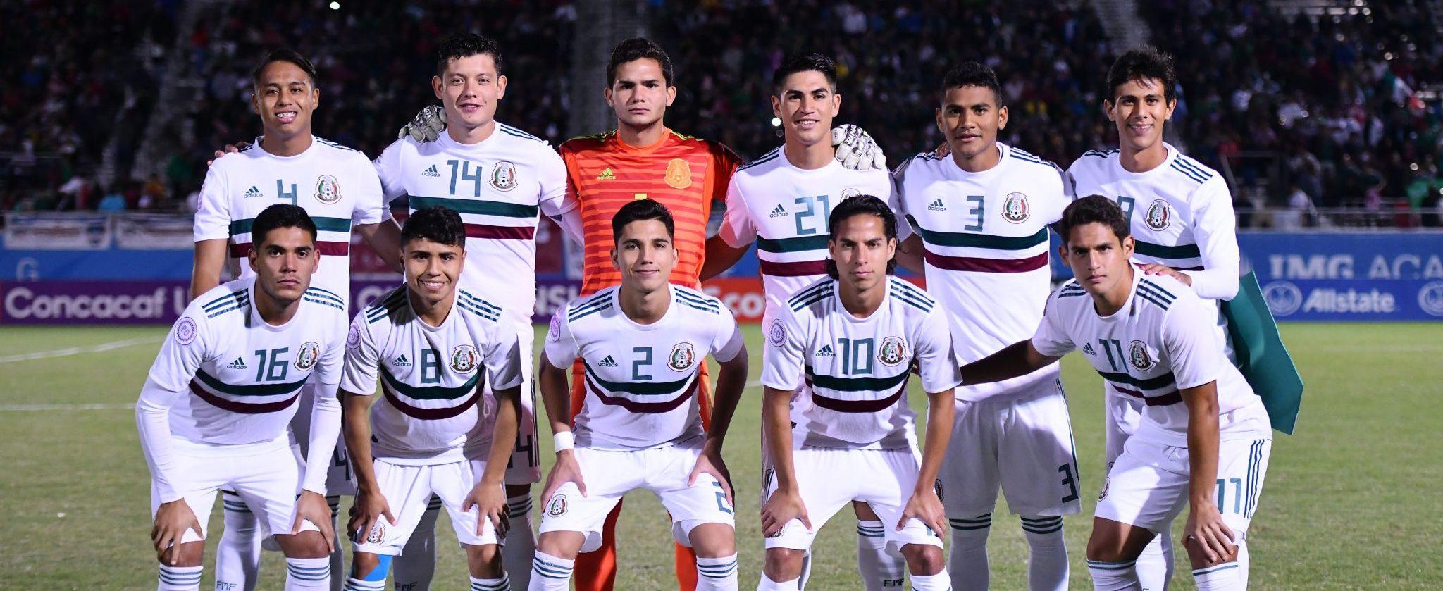 Actividad de la Selección Nacional de México Sub-20 en el 2018 2fae7d111a055