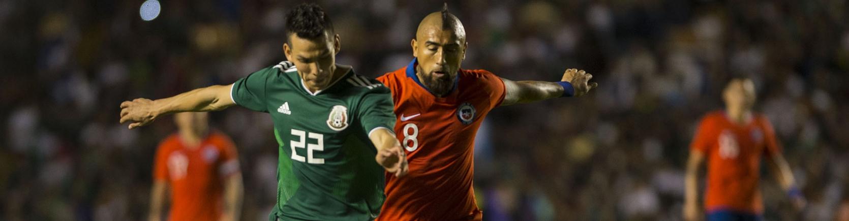 Convocatoria de la Selección Nacional de Chile para el partido ante México 037d76c9e3965